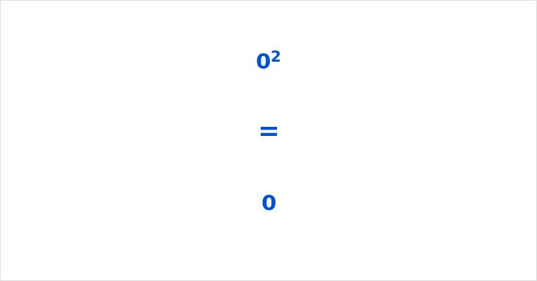 0 Squared