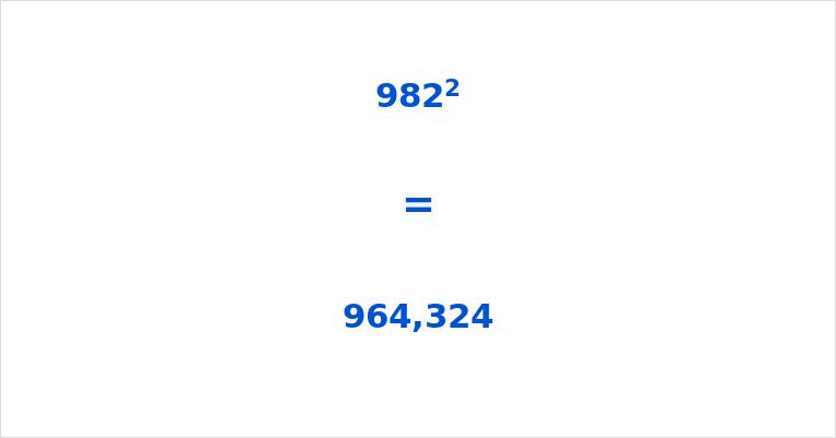 982 Squared